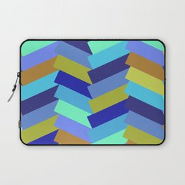 Twisted in a ZigZag Form Laptop Sleeve