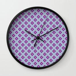 Royal Clover - Raspberry Wall Clock