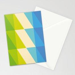 parallelogram parade Stationery Cards