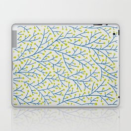 Berry Branches - Lime & Blue Laptop & iPad Skin