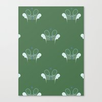 tennis Canvas Prints featuring Tennis by S. Vaeth
