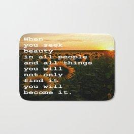 Become Beauty Bath Mat