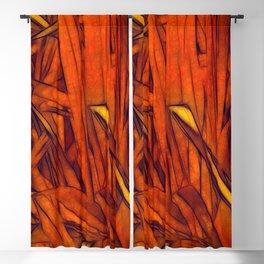 Reeds Burnt Orange Blackout Curtain