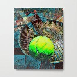 Tennis art print work 19 Metal Print