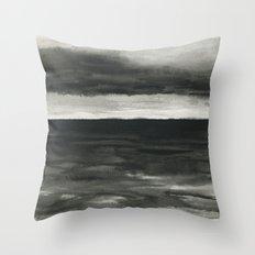 Dark sea Throw Pillow