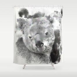 Animals and Art - Koala Bear Shower Curtain
