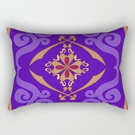 Aladdin Purple Magic Carpet Rectangular Pillow