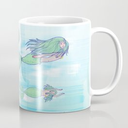 Mermaid migration Coffee Mug