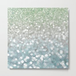 Winter Flurries Metal Print