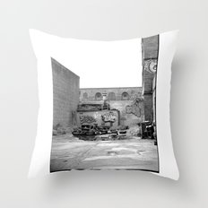 The City 3: Brooklyn In The Back Throw Pillow