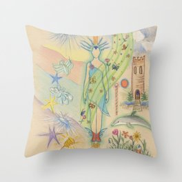 Delightful Experiences Throw Pillow