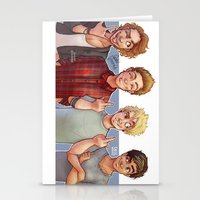 5 seconds of summer Stationery Cards featuring 5 Seconds of Summer by gabitozati