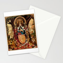 The Lion Queen Stationery Cards