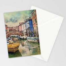 Colors of Burano Stationery Cards