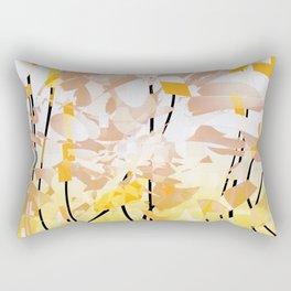 it's in the air Rectangular Pillow