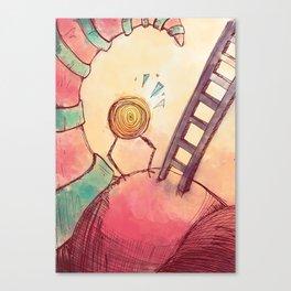 Tourbillon Canvas Print