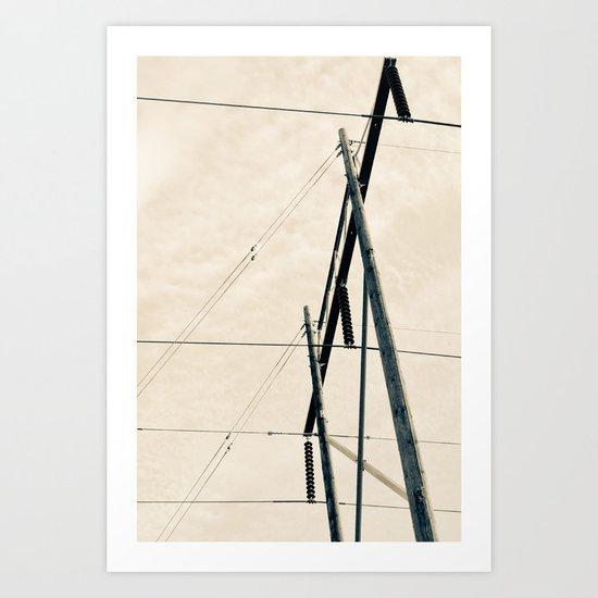 Transmit Art Print