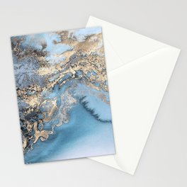 Gold immersion Stationery Cards