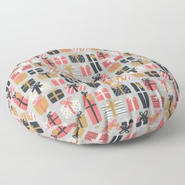 Christmas Gifts Pattern Floor Pillow
