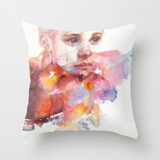 don't worry about it, you're a flower Throw Pillow