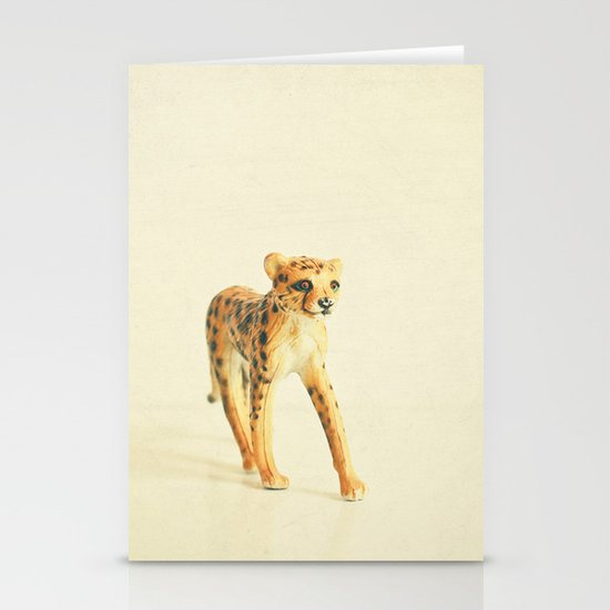 Catwalk Cheetah Stationery Cards