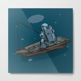 Star Fishing Metal Print