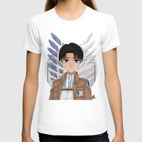 levi T-shirts featuring Levi Rivaille by Larkee Beatz