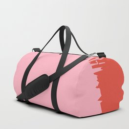 Crimson Swatch Duffle Bag