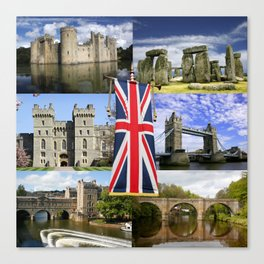 Great British History Canvas Print