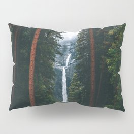 Yosemite Falls - Yosemite National Park, California Pillow Sham
