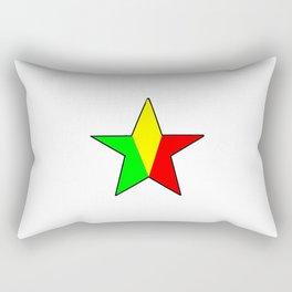 Flag of mali 4 -mali,malien,malienne,malian,bamako,tombouctou,timbuktu,sikasso,mopti,mande Rectangular Pillow