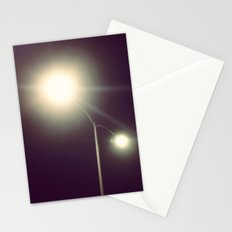 Night light Stationery Cards