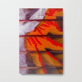 Abstract Sun Blast Metal Print