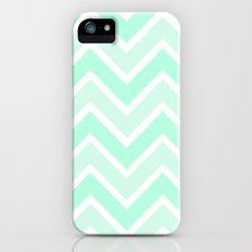 TWO-TONE MINT CHEVRON Slim Case iPhone (5, 5s)