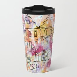 San Francisco Painted Ladies Travel Mug