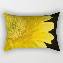 Bright Yellow Rectangular Pillow