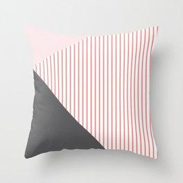 Scandinavian Lines Art Throw Pillow