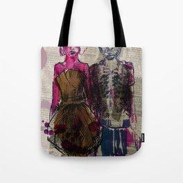 AA Couple Tote Bag