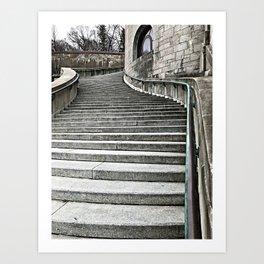 Stairway to Heaven? Art Print