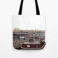 brussels Tote Bags featuring Brussels by Anastasiia Prysiazhniuk