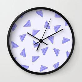 Triangel pattern Wall Clock