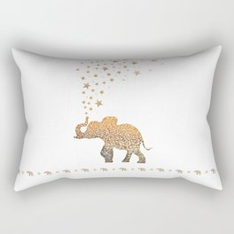 GOLD ELEPHANT Rectangular Pillow