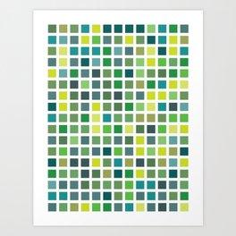 City Blocks - Plant #486 Art Print
