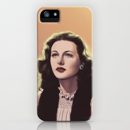 inventor-turned-actress iPhone Case
