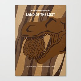 No773 My Land of the Lost minimal movie poster Canvas Print