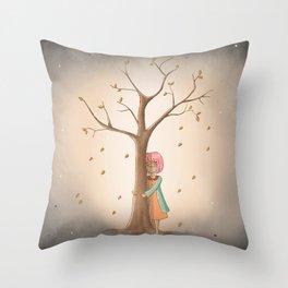 My Last Tree Throw Pillow