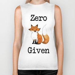 Zero Fox Given Biker Tank