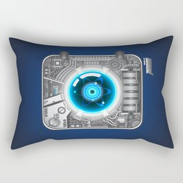 Powered by Atom_ver.01 Rectangular Pillow