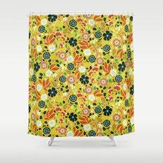 Flourishing Florals Shower Curtain