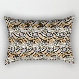 Tiger Pattern Rectangular Pillow